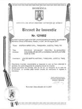 BREVET DE INVENŢIE Nr. 121602