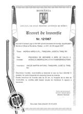 BREVET DE INVENŢIE Nr. 121967