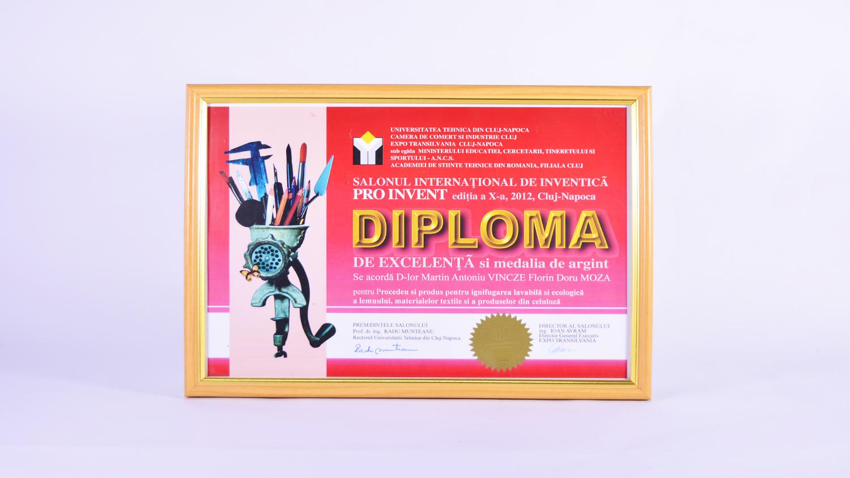 Salonul internațional de inventică Pro Invent, ediția x-a, Cluj Napoca – medalie argint
