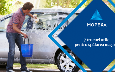 7 trucuri utile pentru spălarea mașinii