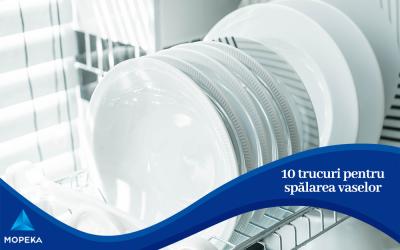 10 trucuri pentru spălarea vaselor