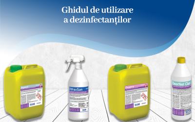 Ghidul de utilizare a dezinfectanților
